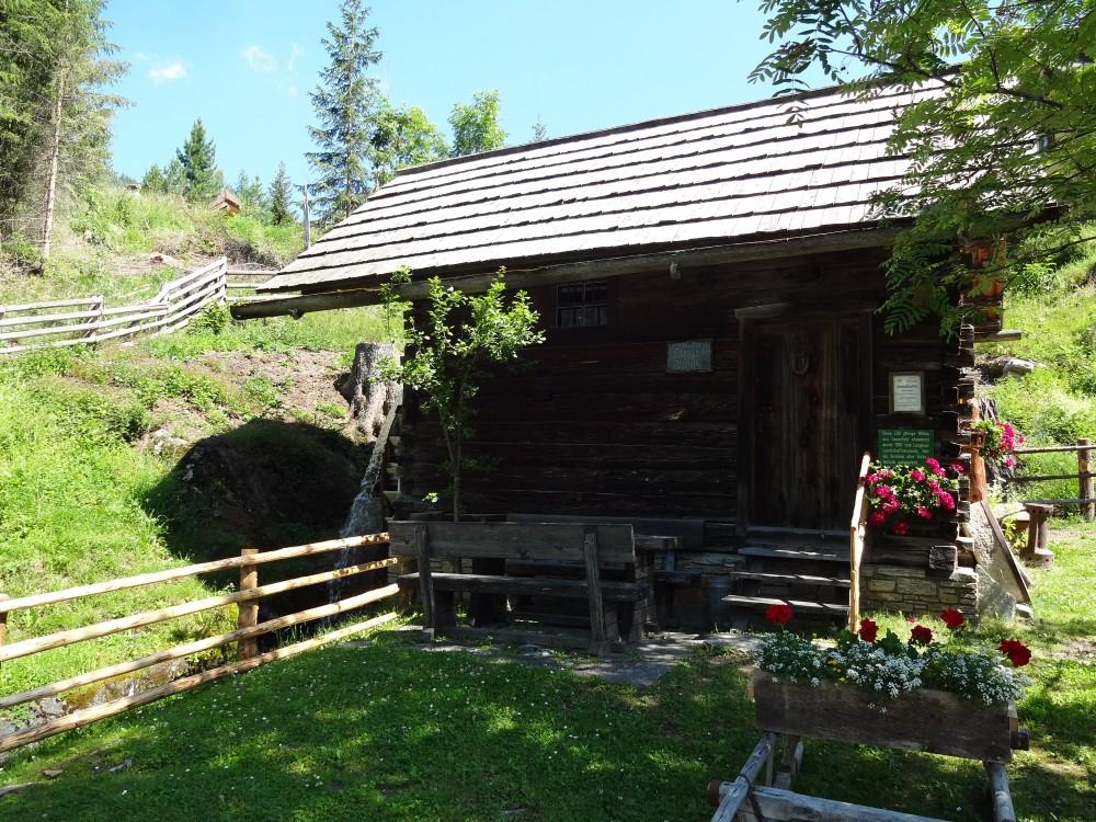 Bei der Stampflmühle in Mauterndorf endet unser Trial