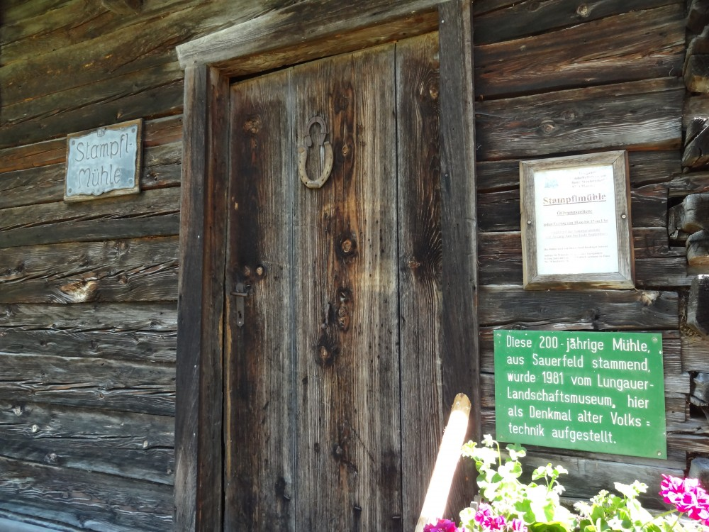 Stampflmühle in Mauterndorf